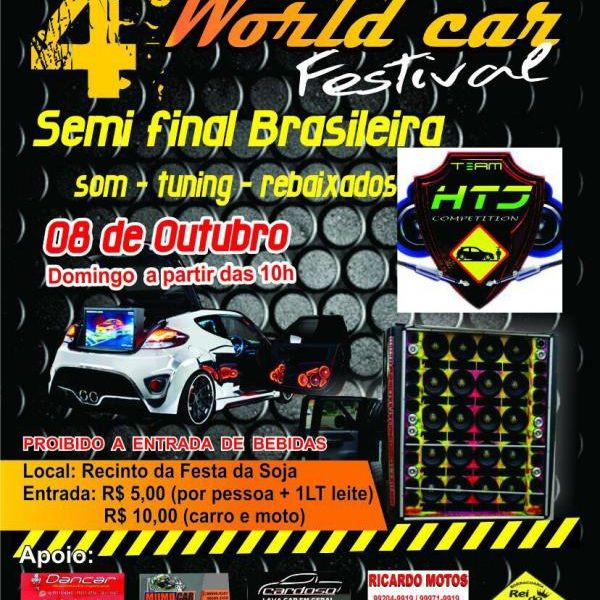 4º World Fest Car
