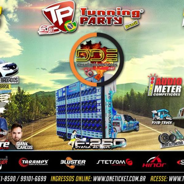 4ª etapa Tunning Party Brasil